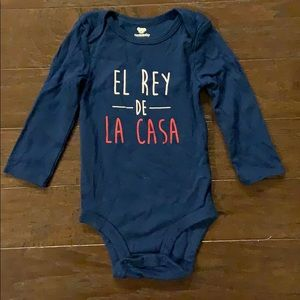 5 items/ $15 - Spanish Bodysuit Onesie